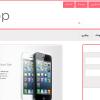 قالب فروشگاه اینترنتی eshop با html