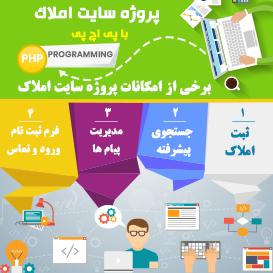 پروژه سایت املاک با پی اچ پی