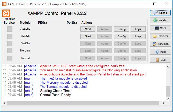 آموزش نصب و راه اندازی زمپ سرور