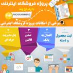پروژه فروشگاه با پی اچ پی + نسخه متصل به بانک